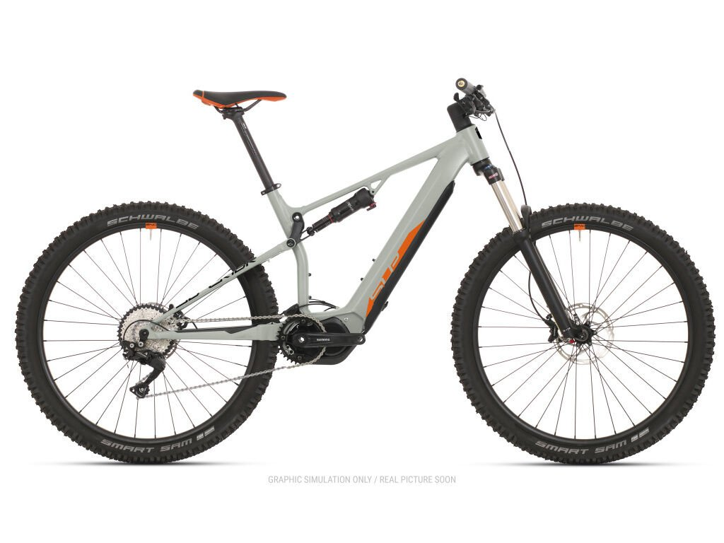 Horské elektrokolo Superior eXF 8089 Gloss Sand Grey/Orange/Black 2021