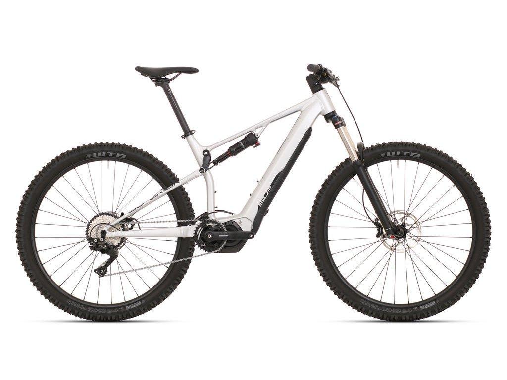 Horské elektrokolo Superior eXF 8069 Matte Silver/Black 2021