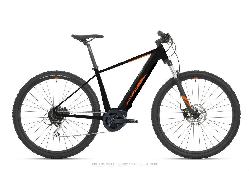 Horské elektrokolo Superior eXC 7039 B Matte Black/Orange 2021