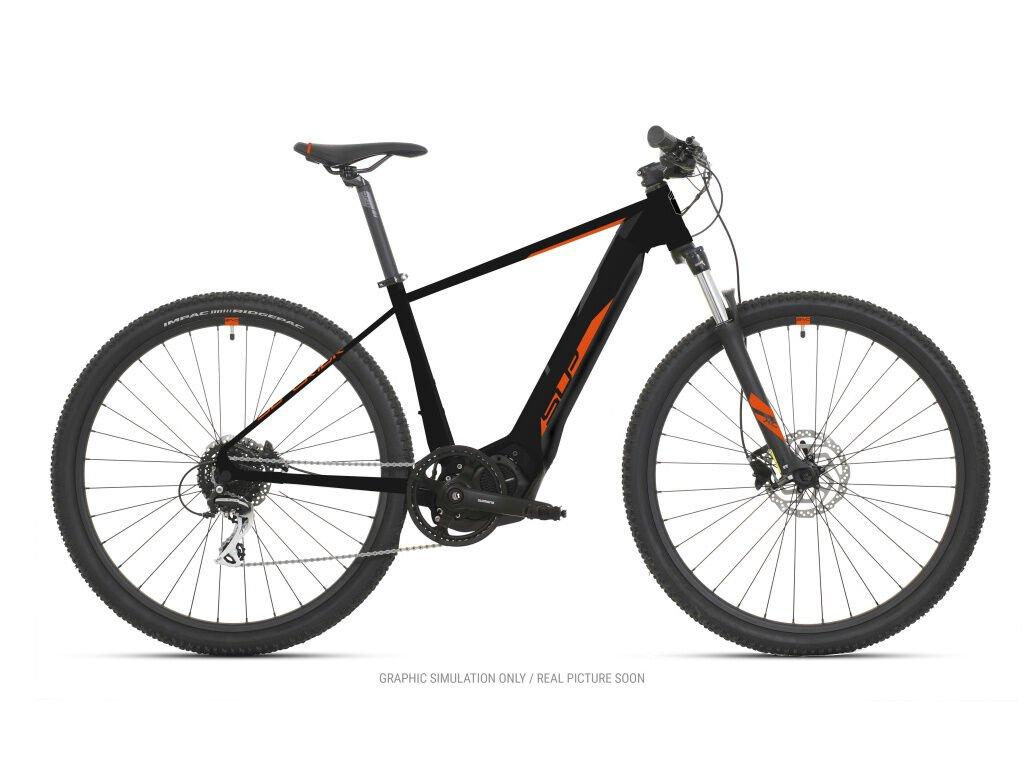 Horské elektrokolo Superior eXC 7019 Matte Black/Orange 2021