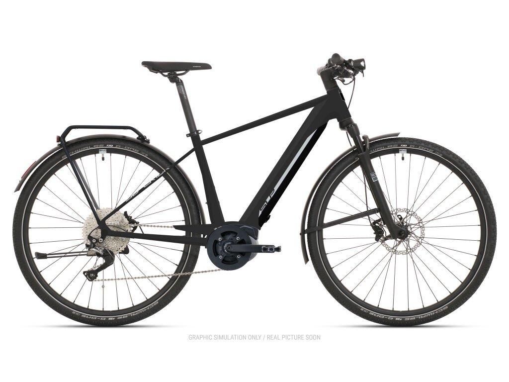 Krosové elektrokolo Superior eXR 6090 B Touring Matte Black/Chrome Silver 2021