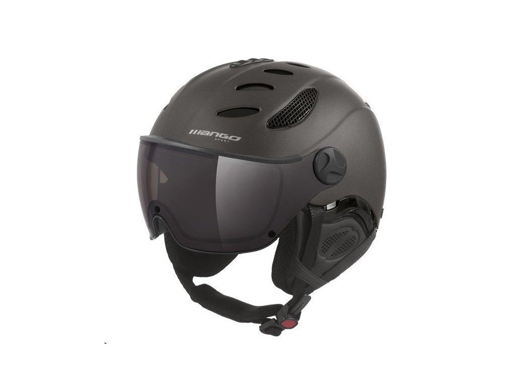 Lyžařská helma Mango Cusna VIP, titan mat