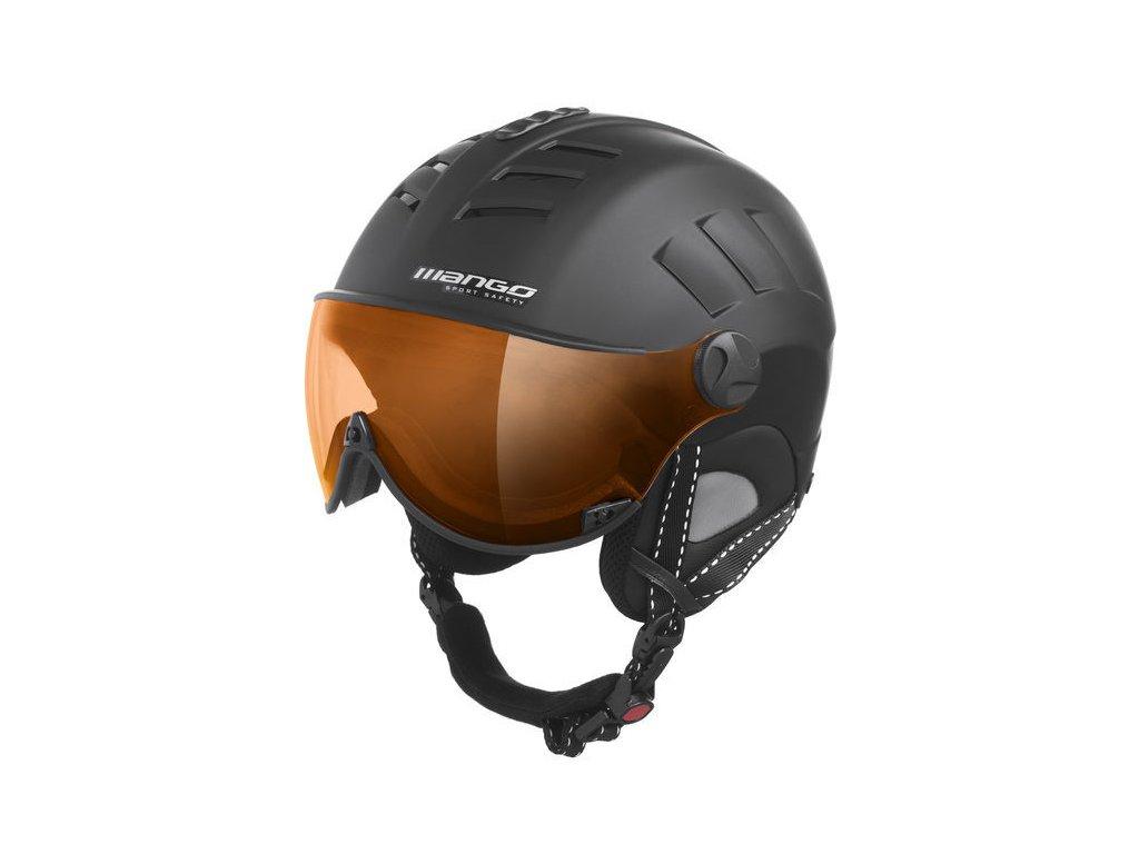 Lyžařská helma Mango Volcano Pro, černá mat