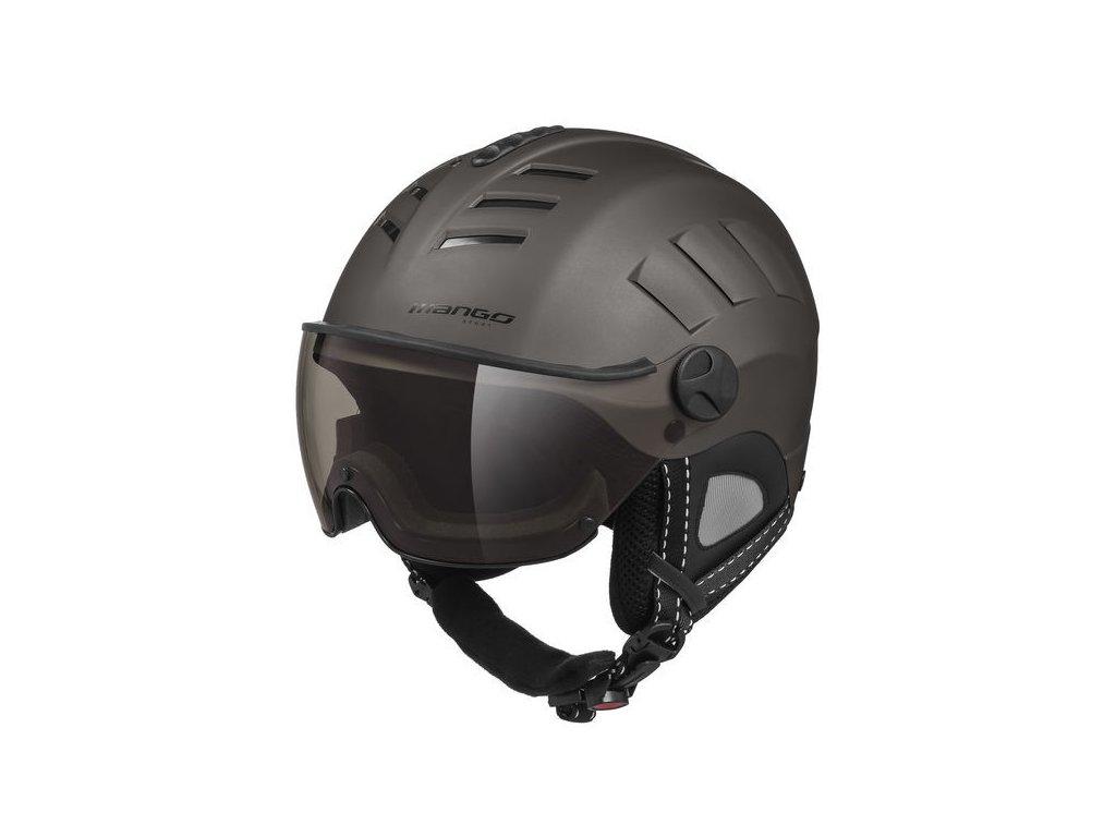 Lyžařská helma Mango Volcano Pro, titan mat