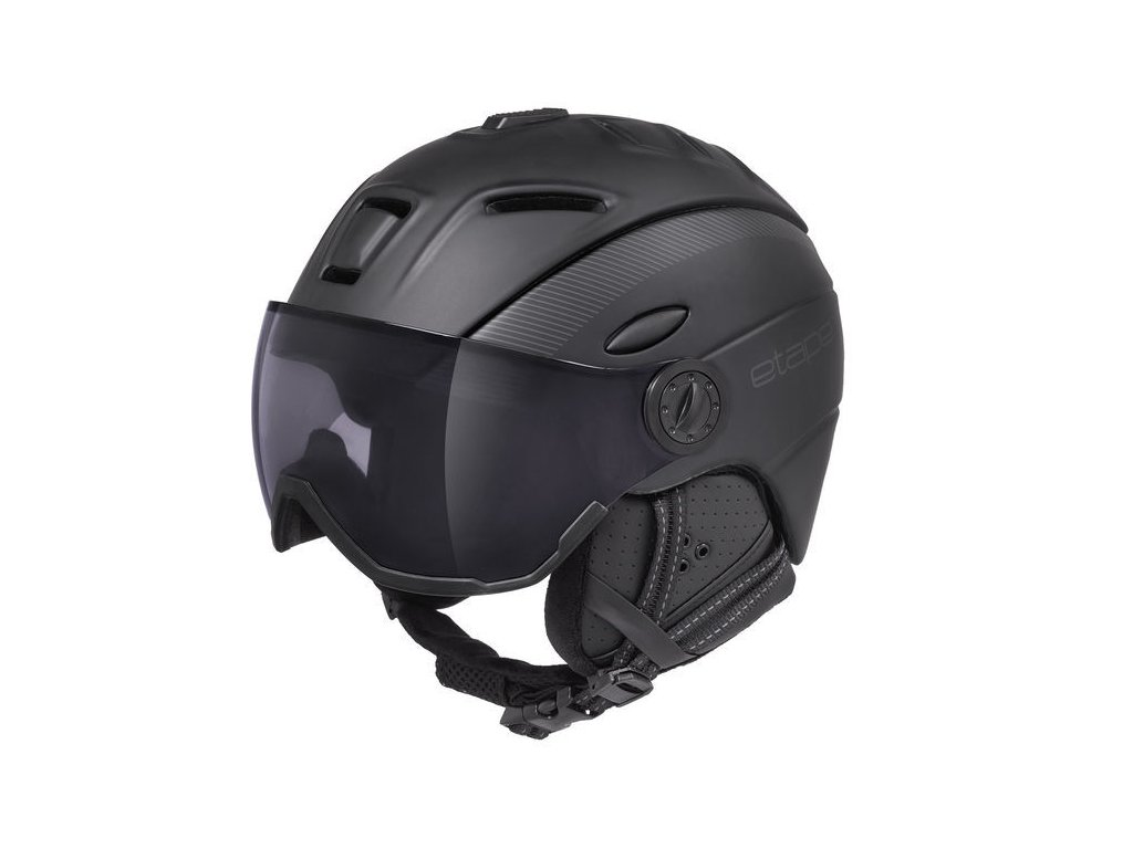 Lyžařská helma Etape COMP VIP, černá mat
