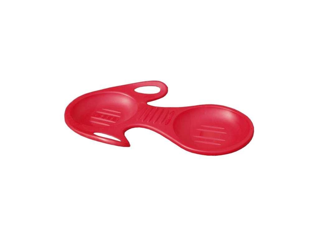 kluzák plastový Snoslyder červený
