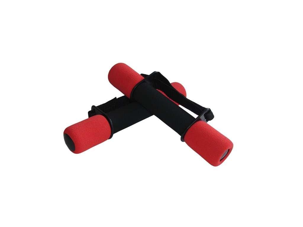činky aerobikové molitanové 2 x 1kg