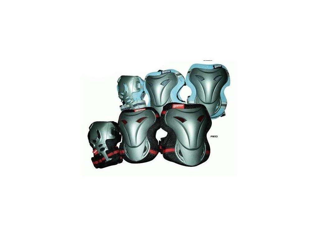 chrániče Tempish Jolly 3-set stř-modré