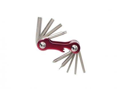 klíče multi 4RACE 10F červený