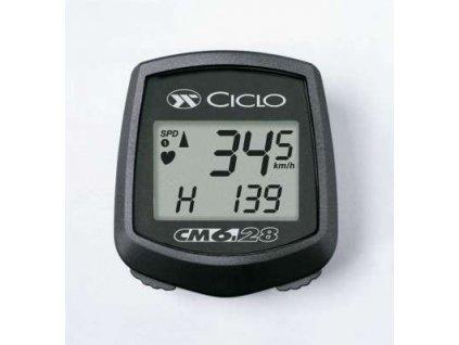 Ciclosport CM 6.28 HR Black Line (vč. měření tepu)
