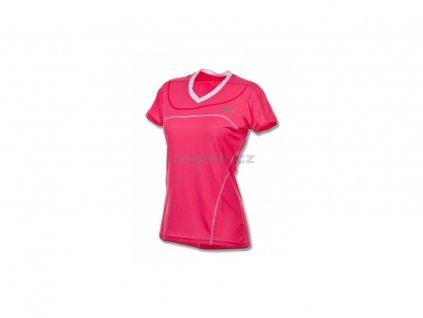 Dámské funkční tričko Rogelli MIRAL, růžové (Varianta XXL)