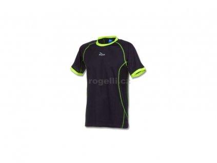 Funkční tričko Rogelli TORREY, černo-reflexní žluté (Varianta XXL)