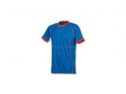 Funkční tričko Rogelli TORREY, modro-oranžové (Varianta XXL)
