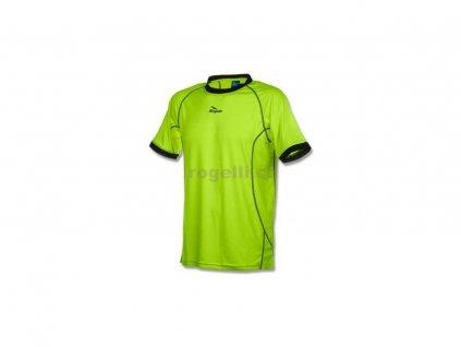 Funkční tričko Rogelli TORREY, reflexní žluté-černé (Varianta XXL)