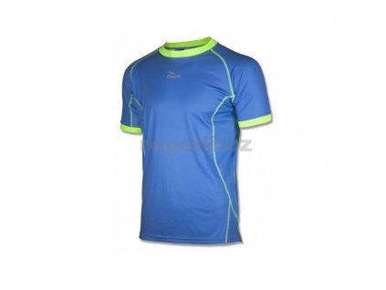 Funkční tričko Rogelli TORREY,modré-refl.žluté (Varianta XXL)