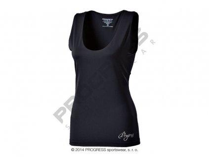 Progress OLI dámské sportovní fitness tílko černá (Varianta XL)