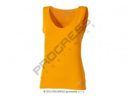 Progress OLI dámské sportovní fitness tílko oranžová (Varianta XL)