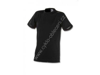 Rogelli PROMOTION funkční tričko, černé (Varianta XXL)