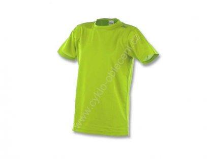 Rogelli PROMOTION funkční tričko, reflexní žluté (Varianta XXL)