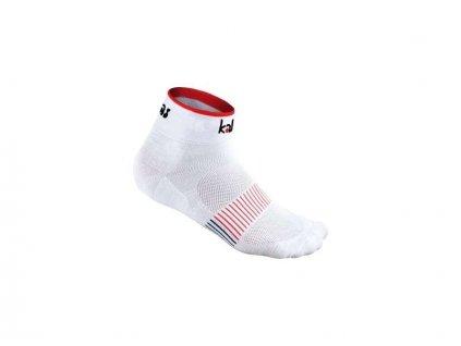 Kalas Cyklistické ponožky RACE X4 | bílé (Varianta 46-48)