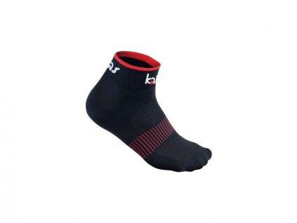 Kalas Cyklistické ponožky RACE X4 | černé (Varianta 46-48)