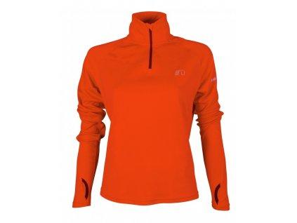 BASE dámská běžecká mikina NEWLINE thermal sweater 13077-017 (Velikost XL)