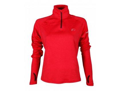 BASE dámská běžecká mikina NEWLINE thermal sweater 13077-040 (Velikost XL)