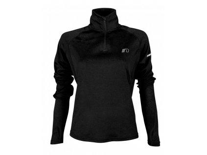 BASE dámská běžecká mikina NEWLINE thermal sweater 13077-060 (Velikost XL)