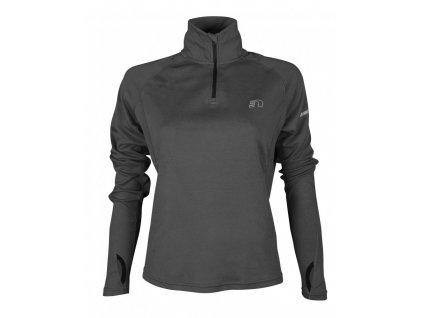 BASE dámská běžecká mikina NEWLINE thermal sweater 13077-083 (Velikost XL)