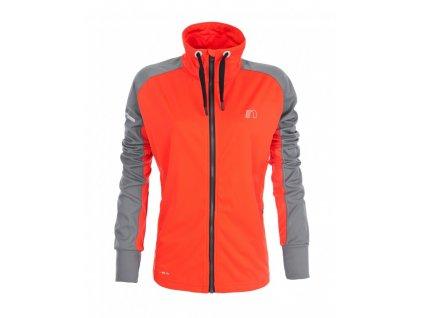 BASE dámská běžecká mikina NEWLINE warm up 13310-017 (Velikost XL)
