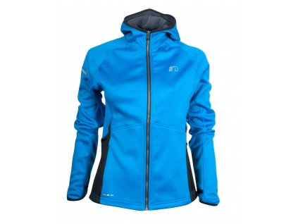 BASE dámská běžecká mikina s kapucí NEWLINE warm up 13096-016 (Velikost XL)