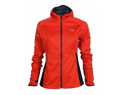BASE dámská běžecká mikina s kapucí NEWLINE warm up 13096-017 (Velikost XL)