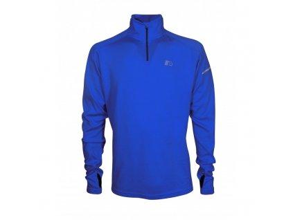 BASE pánská běžecká mikina NEWLINE thermal sweater 14077-016 (Velikost XXL)