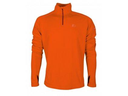 BASE pánská běžecká mikina NEWLINE thermal sweater 14077-017 (Velikost XXL)