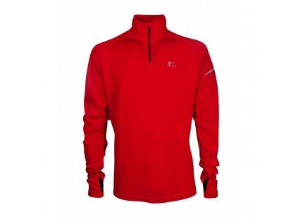 BASE pánská běžecká mikina NEWLINE thermal sweater 14077-040 (Velikost XXL)