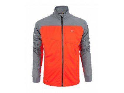 BASE pánská běžecká mikina NEWLINE warm up 14310-017 (Velikost XXL)