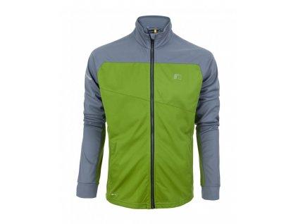 BASE pánská běžecká mikina NEWLINE warm up 14310-018 (Velikost XXL)