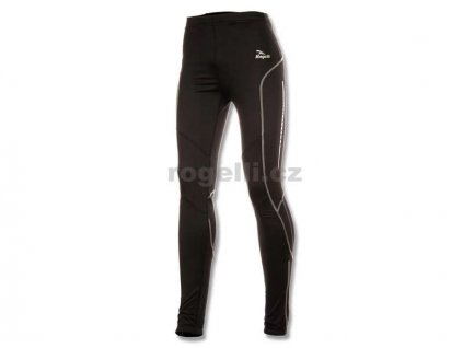Běžecké kalhoty Rogelli ZEUS, černé (Varianta XXL)