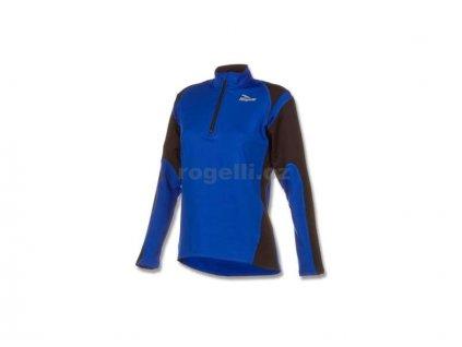 Dámská sportovní mikina Rogelli ELKA, modro-černá (Varianta XXL)