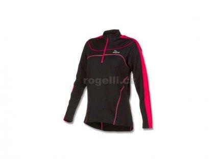 Dámská sportovní mikina Rogelli MELS, černá (Varianta XXL)