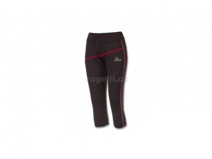 Dámské běžecké 3/4 kraťasy Rogelli MADILON, černo-růžové (Varianta XXL)