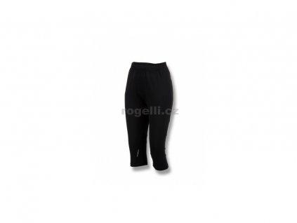 Dámské běžecké 3/4 kraťasy Rogelli SHARON, černé (Varianta XL)