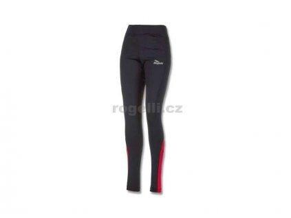 Dámské běžecké kalhoty Rogelli EMNA, černo-červené (Varianta XXL)
