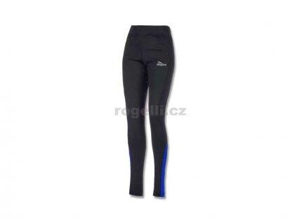 Dámské běžecké kalhoty Rogelli EMNA, černo-modré (Varianta XXL)