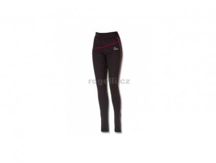 Dámské běžecké kalhoty Rogelli MALANA, černo-růžové (Varianta velikost XXL)