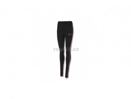 Dámské běžecké kalhoty Rogelli STEELIE, černo-fialové (Varianta XXL)