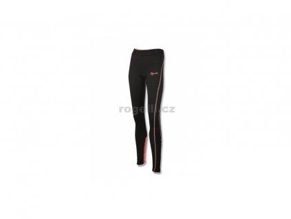 Dámské běžecké kalhoty Rogelli STEELIE, černo-reflexní růžové (Varianta XXL)
