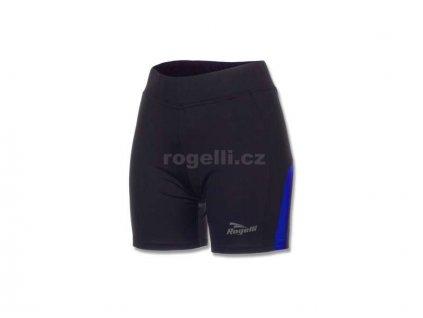 Dámské běžecké kraťasy Rogelli EDIA, černo-modré (Varianta XXL)