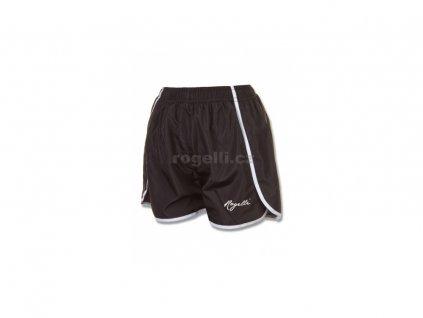 Dámské běžecké šortky Rogelli KYRA, černo-bílé (Varianta XXL)