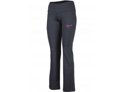 damske fitness kalhoty rogelli fadya cerne original